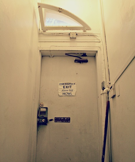"""In the Beat Museum, """"Emergency Exit - Alarm Will Howl"""""""