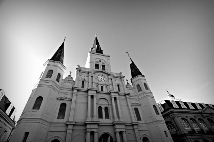 The sight to see when in NOLA, St. Louis Cathedral.