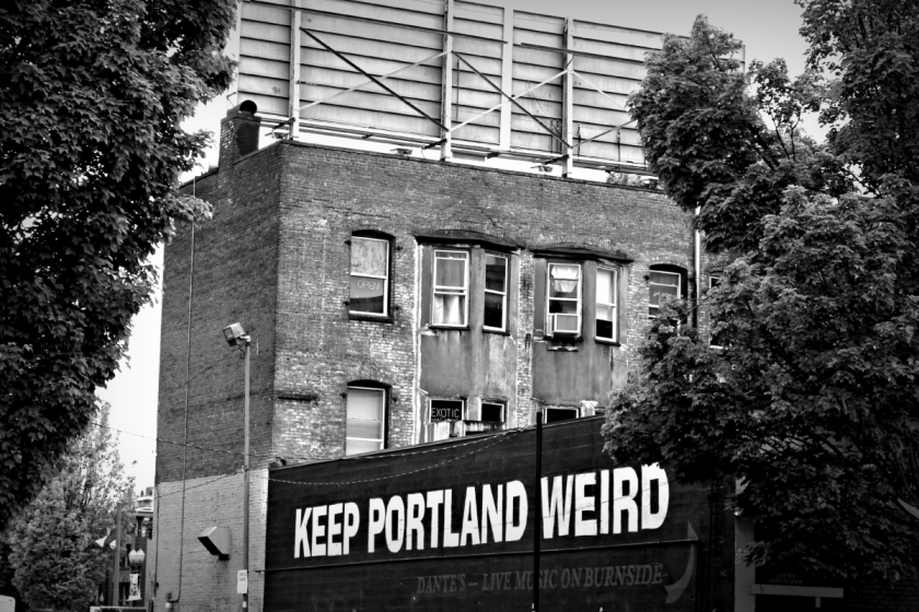 Keep it weird. :)