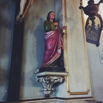 St. Cecilia, who I took my confirmation name after.