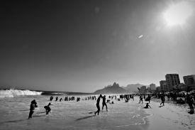 Ipanema in black and white