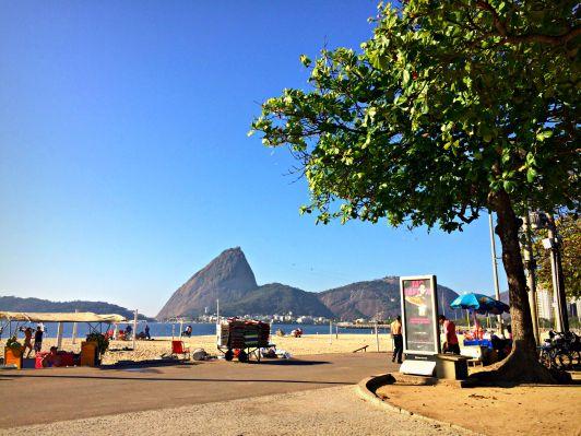 Praia do Flamengo promenade