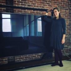 Short me, tall TV.