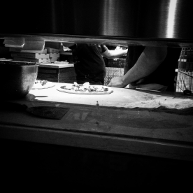The art of pizza.