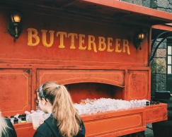 Butterbeer - so sweet, so good.