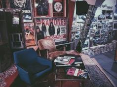 Inside the Ramones Museum. So much memorabilia, so many memories of New York.