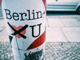 Berlin doesn't love you.