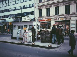 I started with a trip to the Checkpoint Charlie Museum.