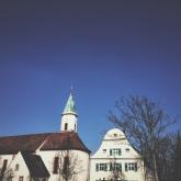 The church in Wyhl.