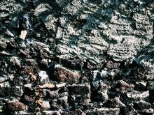 Wall in Wyhl.