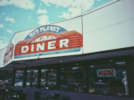 The cutest, alien-themed diner.
