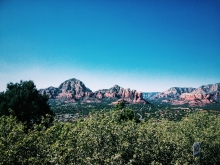 You can see Sugarloaf and Coffee Pot Rock.