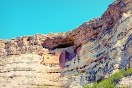 Montezuma Castle, ruins from the Sinaguan people.