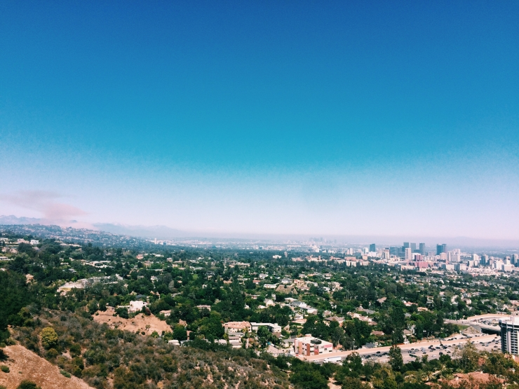 Views from the Getty.