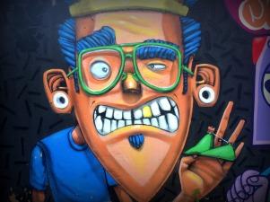 Graffiti in Tijuca.