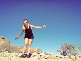 All by my lonesome in Joshua Tree.