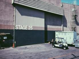 Sound stage.