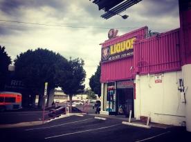Bukowski's preferred liquor store.