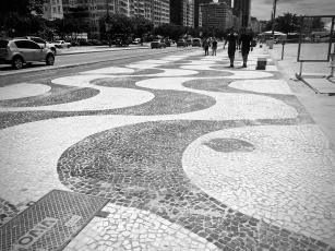 Sidewalks in Copacabana.