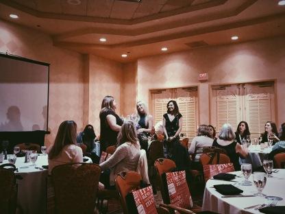 I loved the Women in Domaining dinner