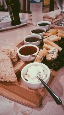 Gorgeous cheese plate from Basilico (my favorite).