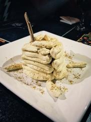 Bananas and dulce de leite at Wanchako.