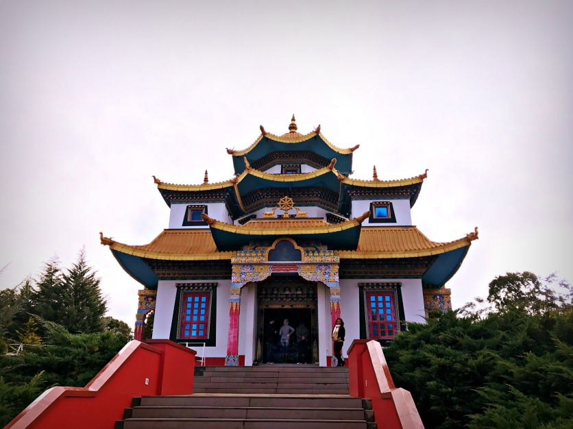 More of the temple area.